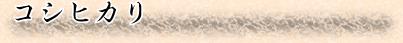 コシヒカリ