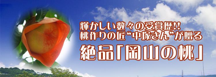 """輝かしい数々の受賞歴!桃作りの匠""""中塚さん""""が贈る 絶品「岡山の桃」"""