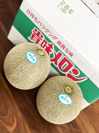 ※配送日指定不可・代引き不可※熊本県産SUN-Q(サンキュー)立体栽培タカミメロン